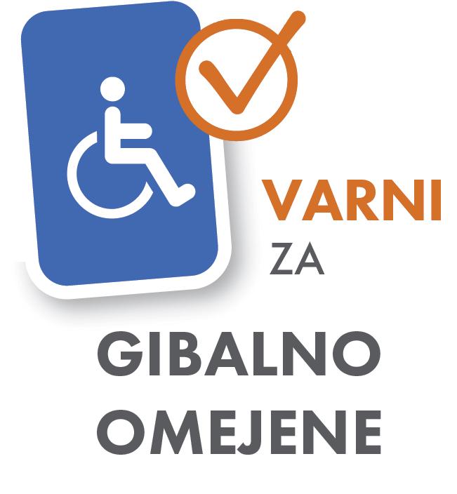 Varna za gibalno omejene in invalide